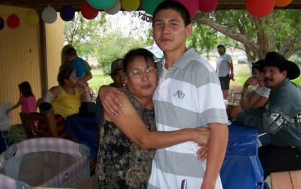 Joaquin and his mother (Luna/Mendoza Family)